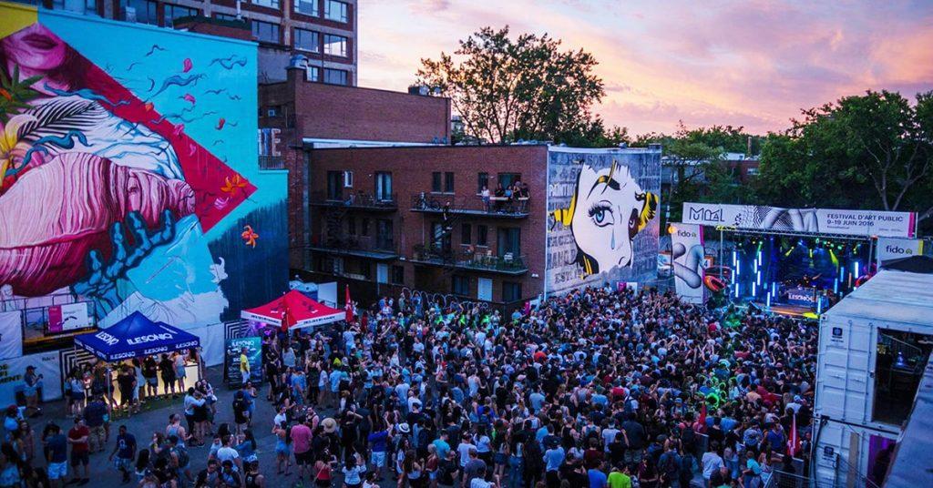 Le festival mural de Montréal